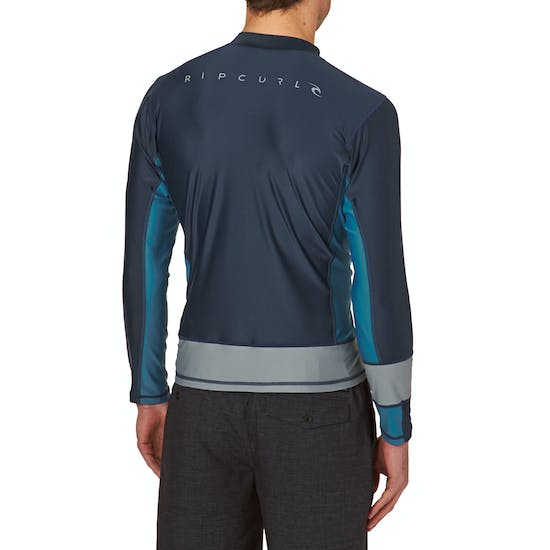 Rip Curl Aggrolite Relaxed Long Sleeve Rash Vest
