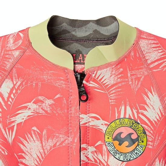 Billabong Surf Capsule 1mm Front Zip Long Sleeve Wetsuit Jacket
