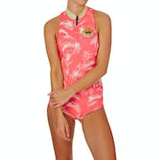 Billabong Surf Capsule 1mm 2017 Front Zip Sleeveless Shorty Ladies Wetsuit