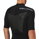 Billabong Absolute Comp 2mm 2017 Back Zip Short Sleeve Wetsuit Jacket