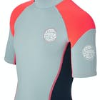Rip Curl Junior Dawn Patrol 2mm Back Zip Shorty Kids Wetsuit
