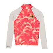 Billabong Surf Capsule Long Sleeve Girls Rash Vest