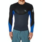Wetsuit Jacket Rip Curl Dawn Patrol 1.5mm Back Zip Long Sleeve