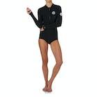 Rip Curl G Bomb 1mm Front Zip Long Sleeve Hi Cut Shorty Ladies Wetsuit