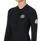 Rip Curl G Bomb 1mm Front Zip Long Sleeve Hi Cut Shorty Womens Wetsuit