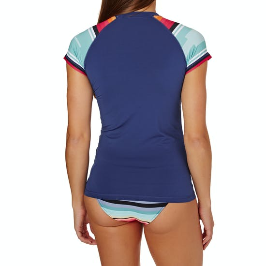 Rip Curl The Wetty Cap Sleeve Womens Rash Vest