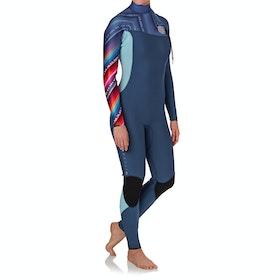 Rip Curl G Bomb 3/2mm Zipperless Wetsuit - Blue
