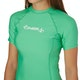 O'Neill Basic Skins Short Sleeve Crew Womens Rash Vest