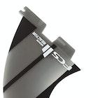 FCS II Reactor Neo Glass Charcoal Thruster Fin