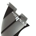 FCS II Reactor Neo Glass Charcoal Thruster Fin