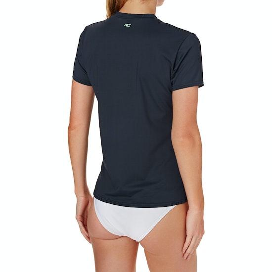 O'Neill Skins Short Sleeve Womens Rash Vest