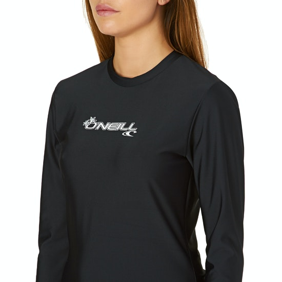 O'Neill Basic Skins Long Sleeve Womens Surf T-Shirt