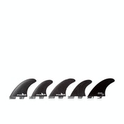 FCS II DHD Performance Glass Set of Five Fin
