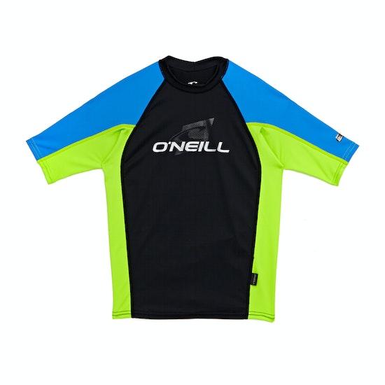 O'Neill Skins Short Sleeve Crew Rashguard