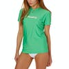 Surf T-Shirt Femme O'Neill Basic Skins Short Sleeve - Seaglass