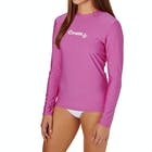 O Neill Basic Skins Long Sleeve Ladies Surf T-Shirt