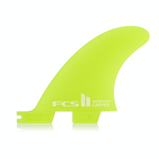 FCS II Carver Neo Glass Quad Rear Side Byte Fin