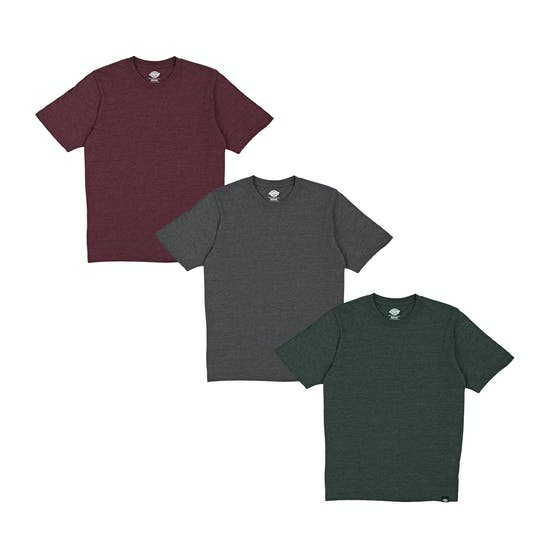 Dickies Hastings 3PK Mens Short Sleeve T-Shirt