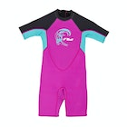 O'Neill 2mm Toddler Reactor Back Zip Shorty Kids Wetsuit