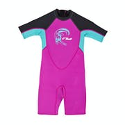 O Neill 2mm Toddler Reactor Back Zip Shorty Kids Wetsuit