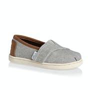 Toms Tiny Alpargata Boys Slip On Shoes