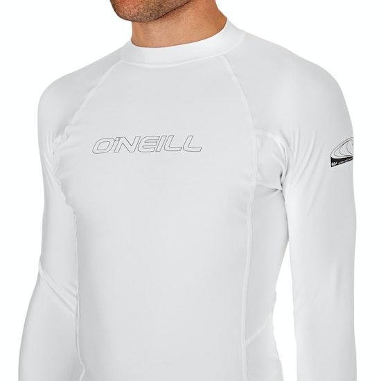 O'Neill Basic Skins Long Sleeve Crew Rash Vest