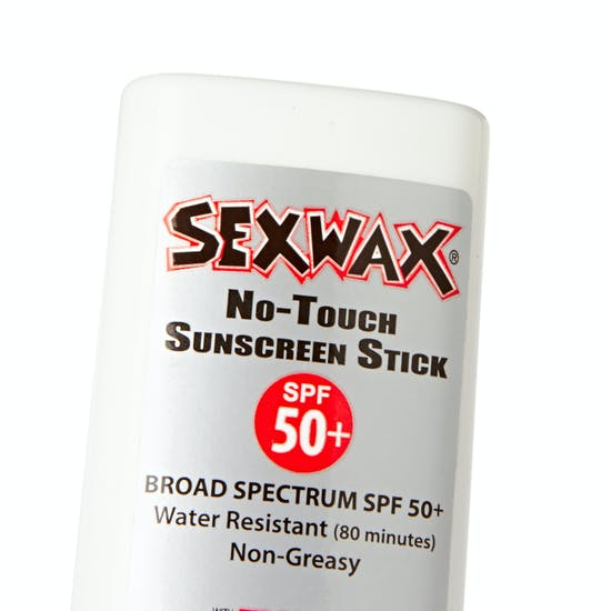 Protection Solaire Sex Wax No Touch Sunscreen Stick SPF 50