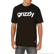 Grizzly Lowercase Logo Short Sleeve T-Shirt