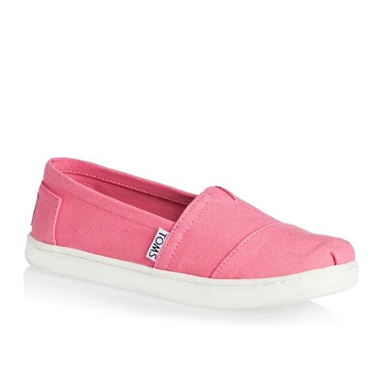 Toms Alpargata Classics Kids Slip On Shoes