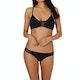 Seafolly Active Multi Rouleau Bralette Bikini Top