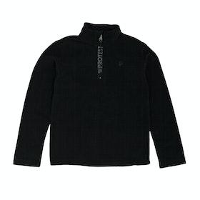 Polaire Protest Perfecty Junior Quarter Zip - True Black