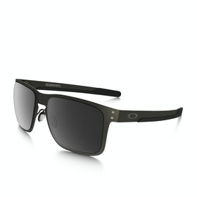 Oakley Holbrook Metal Polarised Sunglasses - Matte Gunmetal ~ Prizm Black