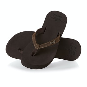 Reef Cushion Luna Womens Sandals - Brown