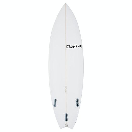 Pyzel Pyzalien Swallow Tail FCS II Thruster Surfboard
