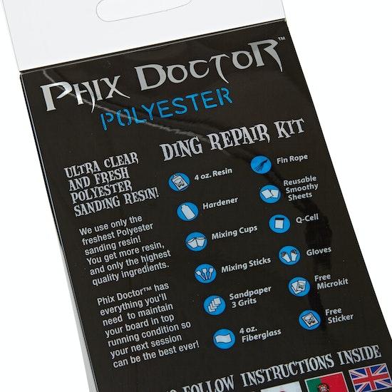 Phix Doctor Pu Large Kit 4oz for Surf Repair