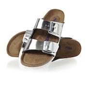 Birkenstock Arizona Leather Soft Footbed Narrow Sandals