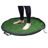 Northcore Grass Waterproof Bag Change Mats - Green