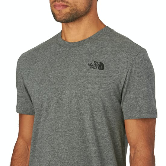 North Face Red Box Short Sleeve T-Shirt