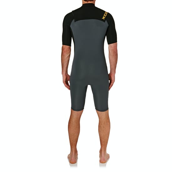 Xcel Infiniti Comp 2mm 2017 Chest Zip Shorty Wetsuit