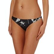 Roxy Printed Strappy Surfer Bikini Bottoms