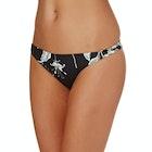 Roxy Printed Strappy Surfer Bikini Bottoms