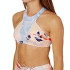 Roxy Pop Surf High Neck Bikini Top