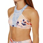 Roxy Pop Surf High Neck Bikini Top