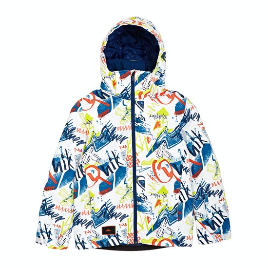 Giacca Snowboard Quiksilver Mission Printed