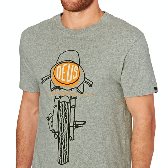Deus Ex Machina Frontal Matchless Short Sleeve T-Shirt