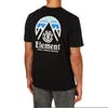 Element Tri Tip Short Sleeve T-Shirt - Flint Black