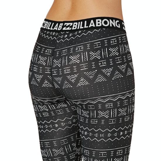 Billabong Warm Up Tech Womens Base Layer Leggings