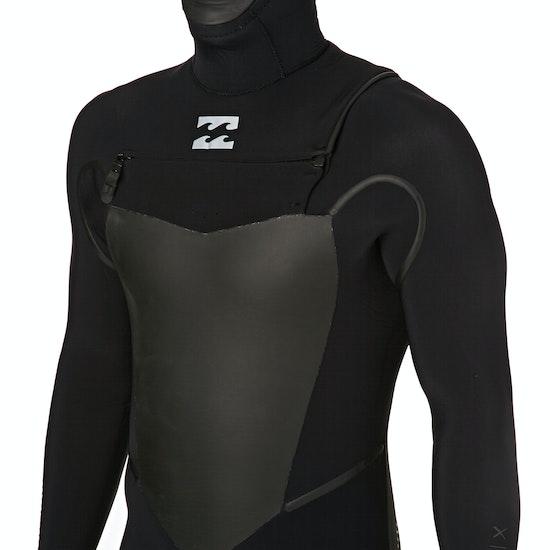 Billabong 7/6mm 2018 Furnace Carbon X Hooded Chest Zip Wetsuit