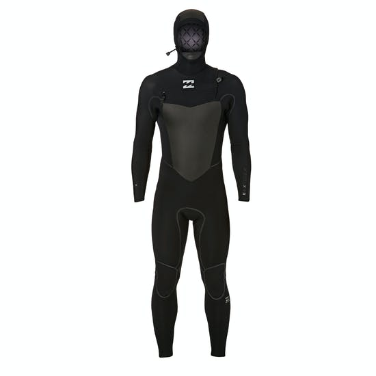 Billabong 5-4mm 2018 Furnace Carbon X Hooded Chest Zip Wetsuit