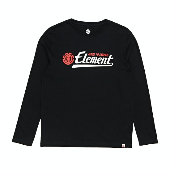 T-Shirt de Manga Comprida Boys Element Signature